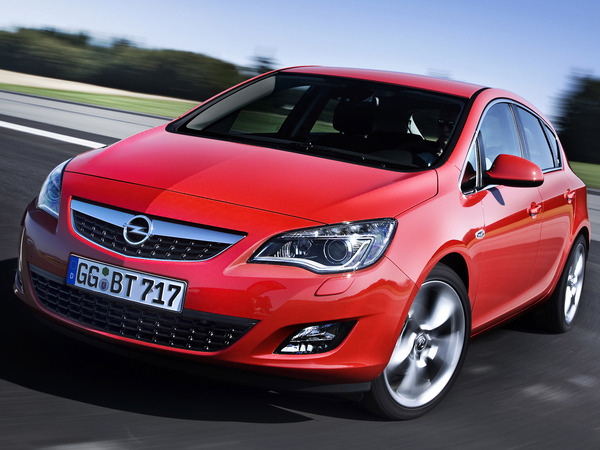 Photo opel astra 2013