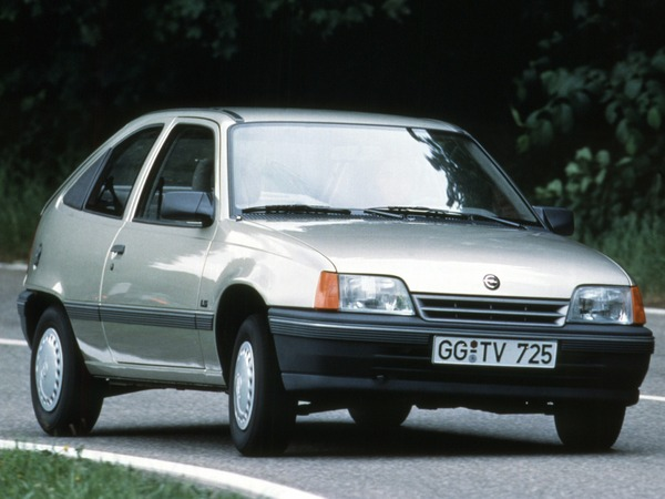 Photo opel kadett 1986