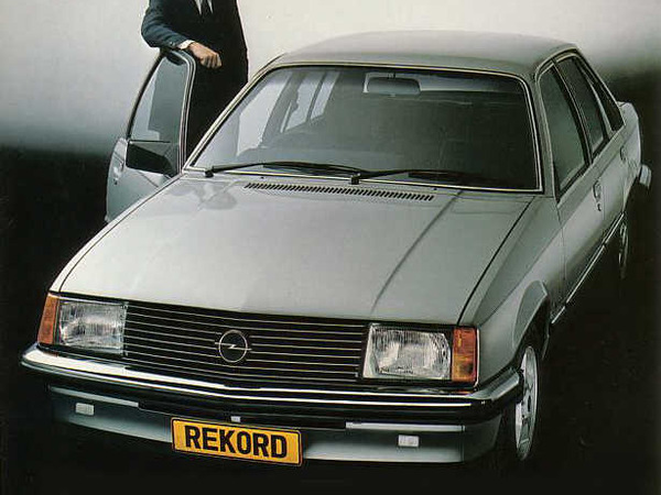 Photo opel rekord 1986