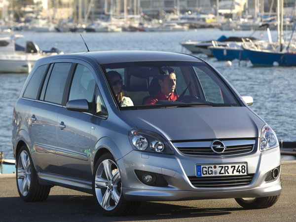 Photo opel zafira 2020