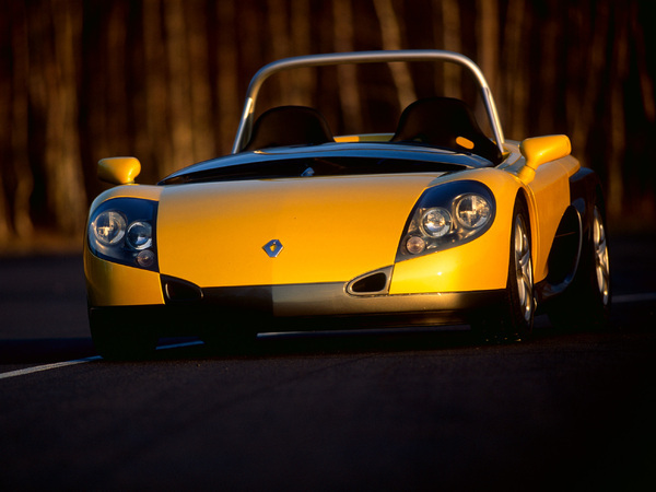 Photo renault spider 1997
