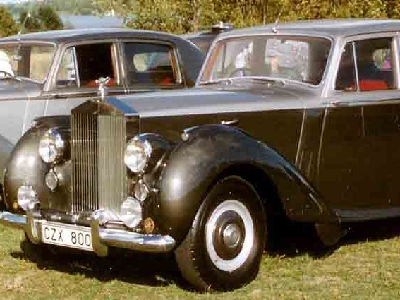 Photo ROLLS ROYCE SILVER DAWN