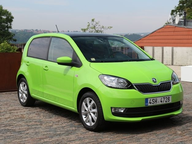 Photo skoda citigo 2012
