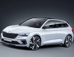 Skoda Vision Rs Concept
