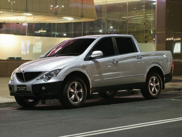 Photo SSANGYONG ACTYON SPORTS