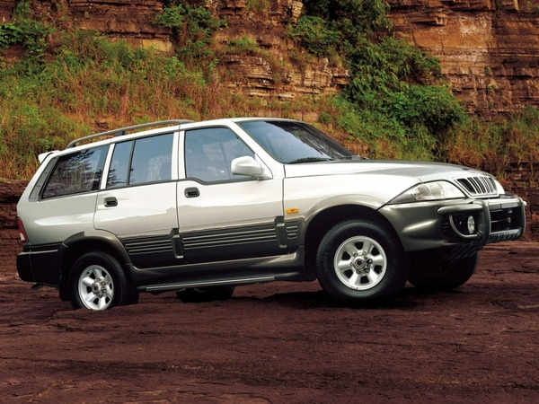 Photo ssangyong musso 1998