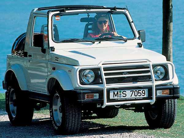 Photo suzuki samurai 1998