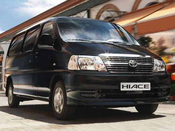 Photo toyota hi ace 1995