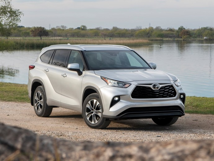 Photo toyota highlander 2019