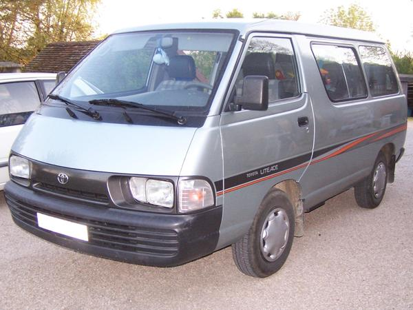 Photo toyota lite ace