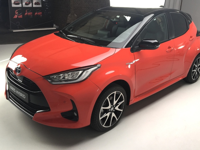 Photo toyota yaris 2017