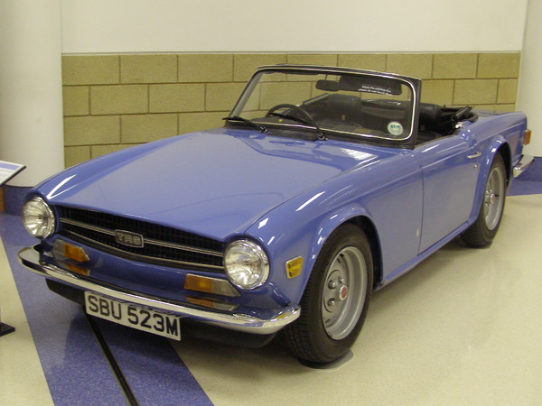 Photo TRIUMPH TR 6