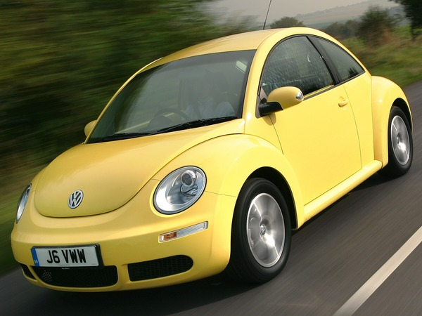 Photo volkswagen new beetle 2002