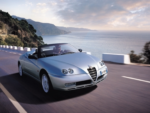 Photo alfa romeo spider 2006