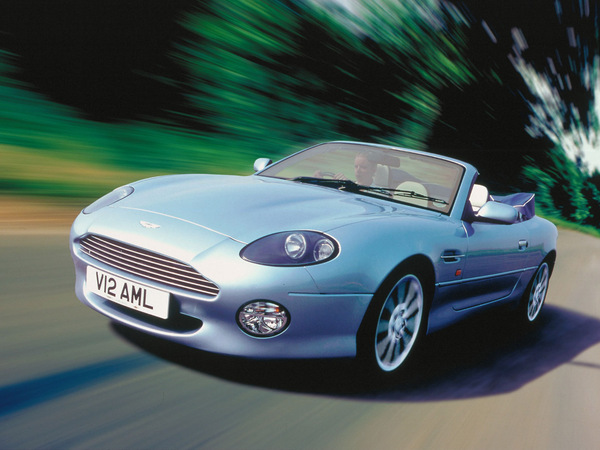 Photo aston martin db7 2002