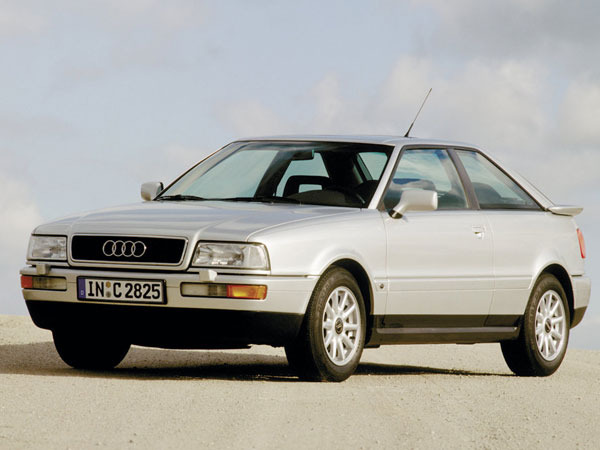 Photo audi coupe 1991