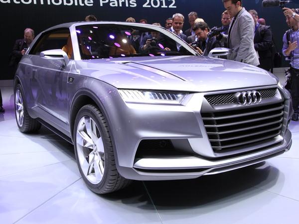 AudiCrosslane Coupe Concept