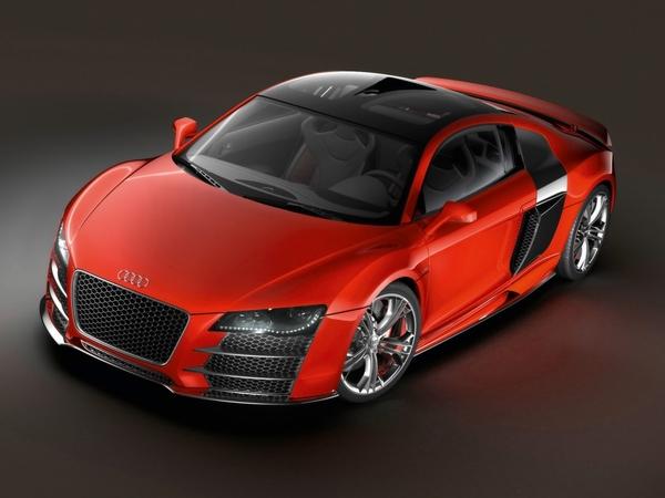 AudiR8 Tdi Le Mans Concept