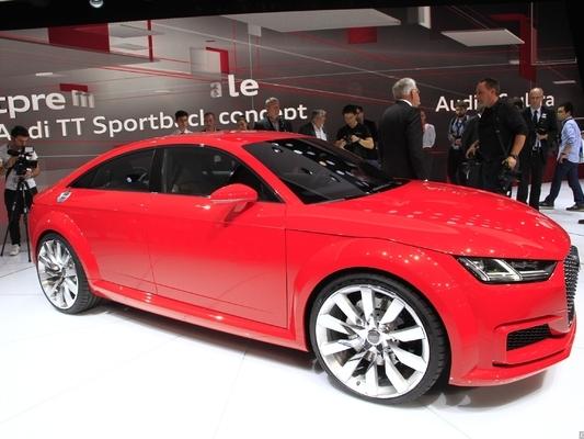 AudiTt Sportback Concept