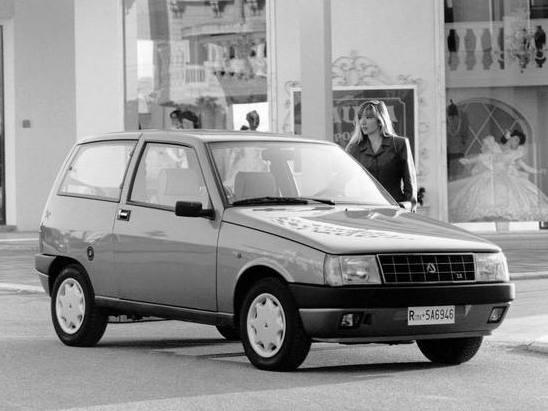 Photo autobianchi y10 1986