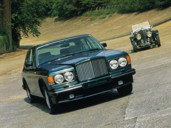 Photo bentley brooklands 1996