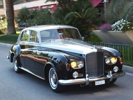 Photo bentley silver cloud 1980