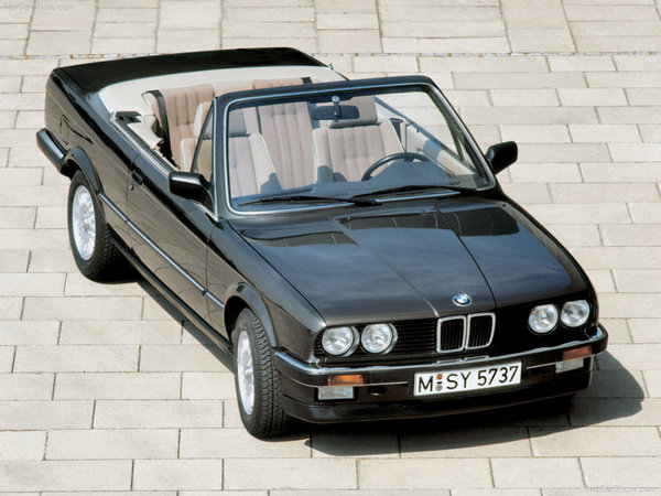 bmw serie 3 e30 cabriolet essais fiabilit avis photos vid os. Black Bedroom Furniture Sets. Home Design Ideas
