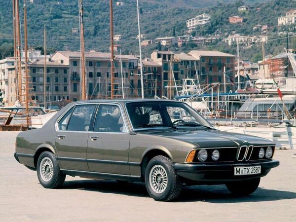 Photo bmw serie 7 1984