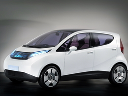 Bollore Blue Car Concept
