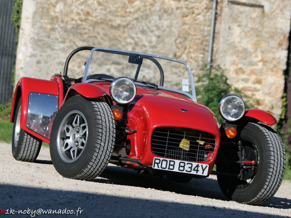 Photo caterham super seven