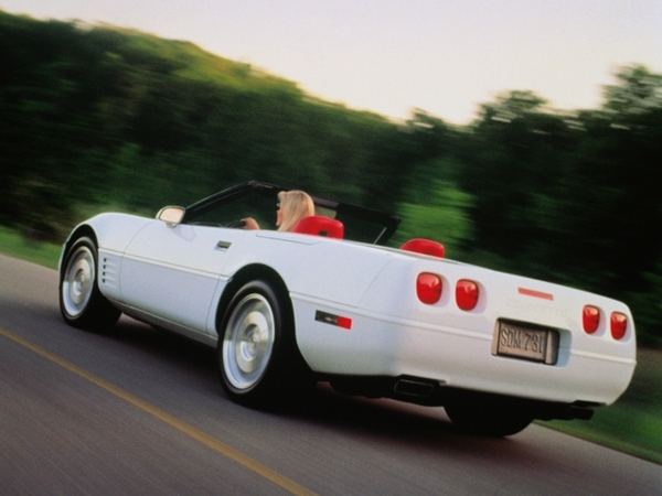 argus chevrolet corvette 1995 cabriolet c4 5 7 300 bva. Black Bedroom Furniture Sets. Home Design Ideas