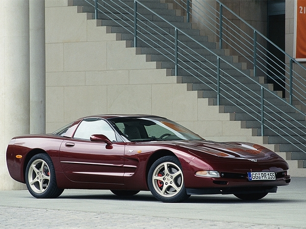 Photo chevrolet corvette 1998