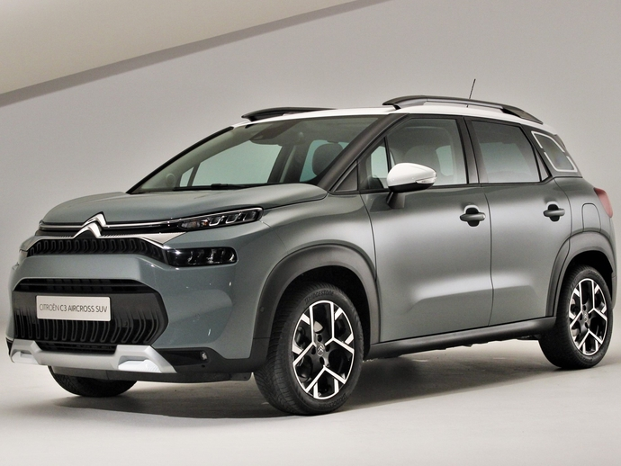 Photo citroen c3 aircross 2018