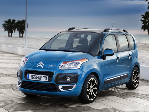 Photo citroen c3 picasso 2014