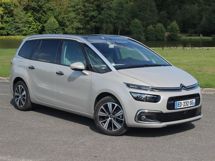 Photo citroen grand c4 picasso 2014