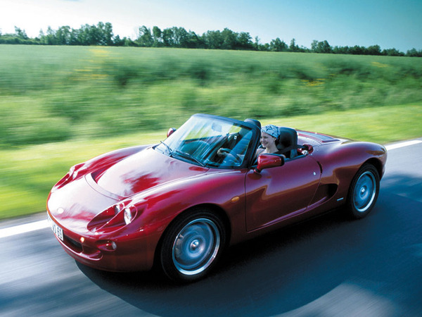 Photo de la chapelle roadster 1999