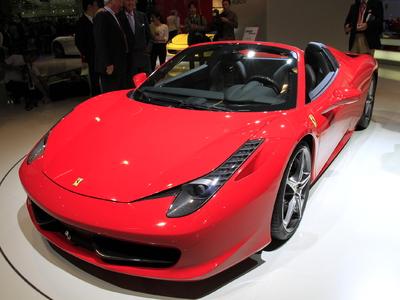 Ferrari 458 Italia Spider