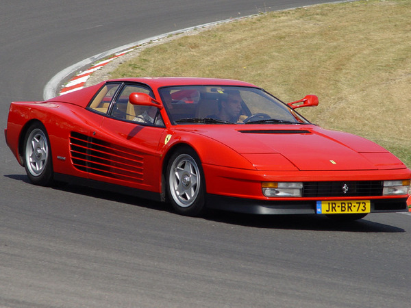 Photo ferrari testarossa