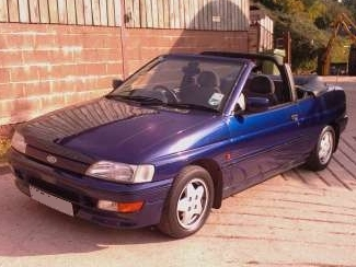 Photo ford escort 1991