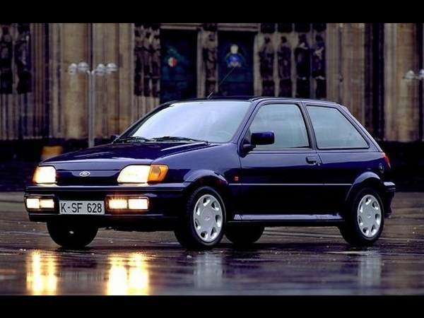 Photo ford fiesta 1991