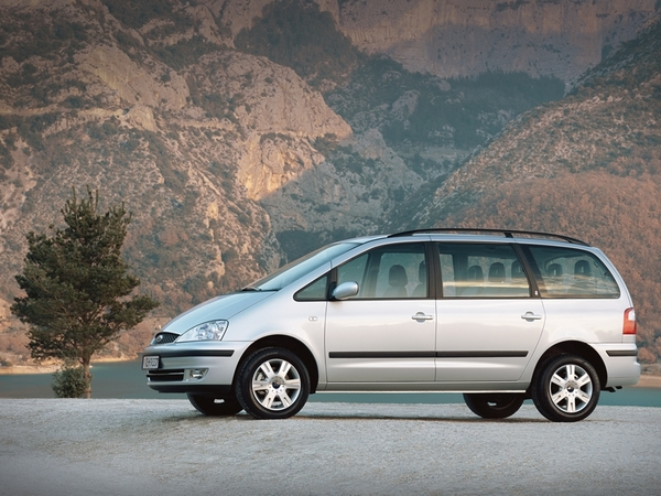 Photo ford galaxy 1999