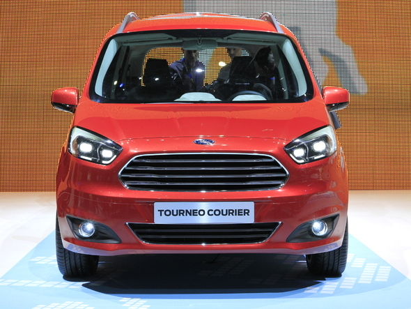Photo ford tourneo courier 2018