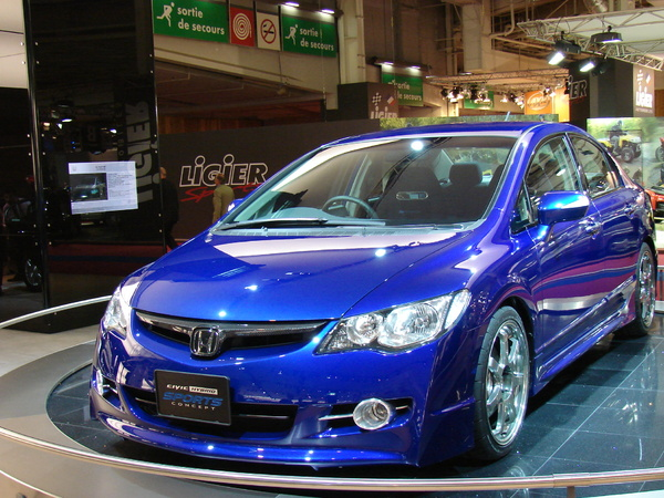 Honda Civic Hybrid Sports Concept