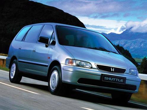 Photo honda shuttle 1990