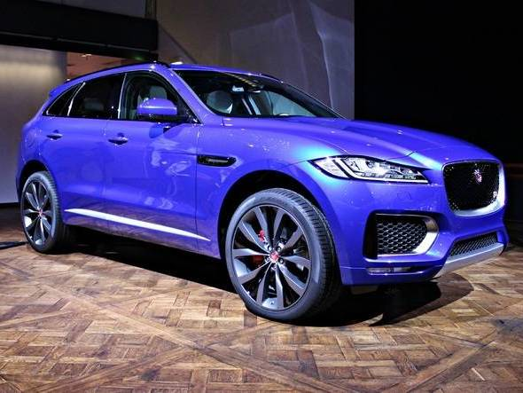 Photo jaguar f-pace 2020