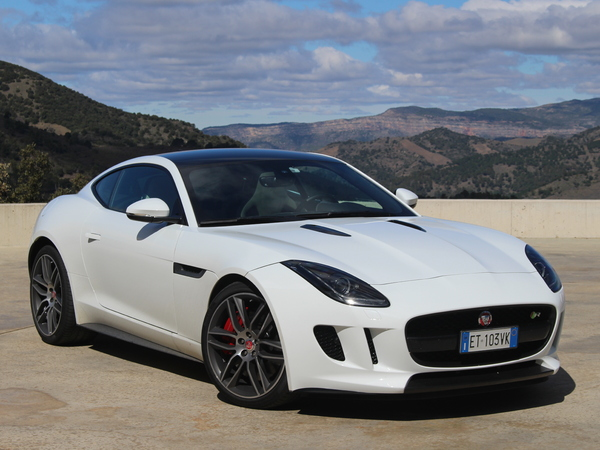 fiche technique jaguar f type coupe 3 0 v6 s awd auto 2015 la centrale. Black Bedroom Furniture Sets. Home Design Ideas