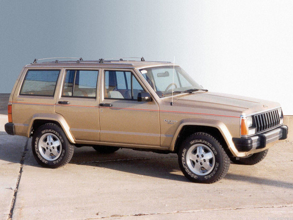 Photo jeep cherokee 1996