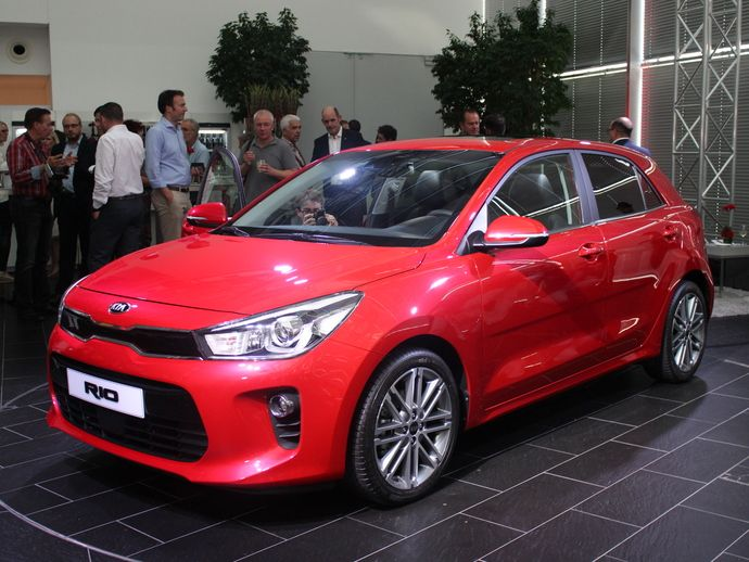 Photo kia rio 2018