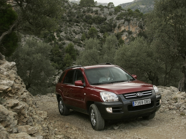 Photo kia sportage 2007