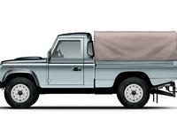 photo de Land Rover Defender 4 Utilitaire Pick Up